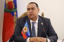 Luhansko separatistai savo administracijos laikinuoju vadovu paskyrė L. Pasečkiną