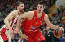 Eurolygoje - penktoji iš eilės CSKA klubo pergalė
