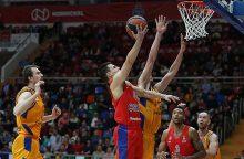 CSKA krepšininkai lengvai įveikė Las Palmo komandą