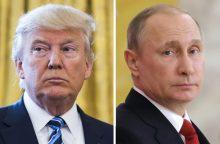 Ko V. Putinas ir D. Trumpas tikisi iš susitikimo Helsinkyje?