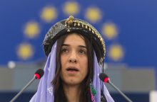 """N. Murad ragina saugoti jazides, kol nebus nuteisti """"Islamo valstybės"""" vadeivos"""