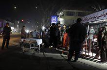 Per sprogimą Kabule žuvo mažiausiai keturi žmonės, dar 90 buvo sužeisti