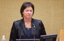 V. Baltraitienė: abejones dėl pirkimų iškėlė pati ministerija