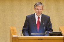 Seimo narys J. Sabatauskas automobiliu kliudė pėsčiąjį