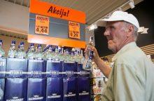 Tikrindami dokumentus, prekybininkai alkoholio pardavė 9 proc. mažiau