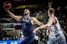 Pasaulio krepšinio čempionato atrankoje prancūzai išplėšė pergalę po pratęsimo