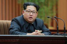 K. Jong-Unas: visa pagrindinė JAV teritorijos dalis pasiekiama Pchenjano raketoms