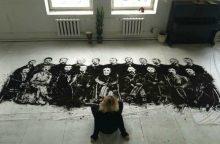 Įspūdinga: Vasario 16-osios signatarų piešinys iš lietuviškos žemės