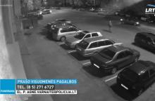Vilniaus policija ieško nusikaltėlio