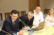 LFF savo veiklą pristatė Seime