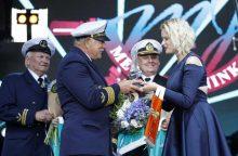 Metų jūrininku tapo kapitonas J. Liepuonius