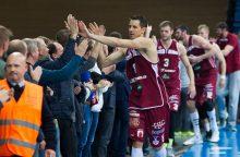 """Europos taurė: """"Lietkabelis"""" nusileido """"Nižnij Novgorod"""" krepšininkams"""