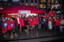 Renginys sostinėje vainikavo maltiečių paramos akcijos žygį per Lietuvą