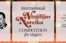 V. Noreikos dainininkų konkurse – ir žymūs jaunosios kartos lietuvių solistai