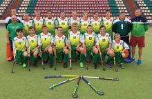 Lietuvos 18-mečiai žolės riedulininkai Europos čempionate iškovojo pirmąją pergalę
