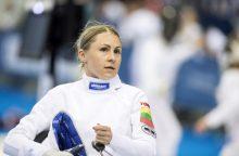 Šiuolaikinės penkiakovės pasaulio taurės finale kovos olimpiniai čempionai