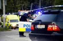 Stokholmo centre šaudyta, vienas žmogus sužeistas