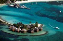 Dėl klimato kaitos augantis jūros lygis kelia nerimą salų gyventojams