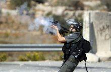 Palestina: Izraelio kariai nušovė palestiniečių paauglį