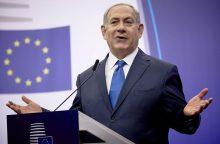 Izraelio premjeras dėkoja Lietuvai už istorinį kvietimą į ES