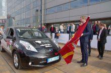 Gegužę – trečiasis elektromobilių maratonas