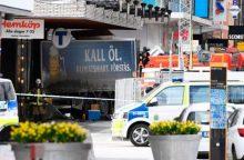 Švedijos teisėsauga paleido antrą įtariamąjį dėl atakos Stokholme