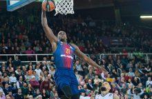 """""""FC Barcelona Lassa"""" krepšininkai įveikė Bambergo komandą"""