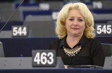 Rumunijos premjero poste pirmą kartą bus moteris – V. Dancila