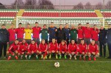 Lietuvos jaunimo futbolo rinktinė Baltijos taurės turnyre turės naujokų