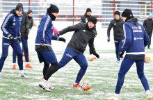 """""""Utenio"""" futbolininkai pradėjo pasirengimą sezonui"""