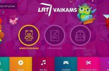 LRT.lt naujovė – unikali vaikams skirto saugaus turinio svetainė
