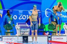 Rumunijoje dominavę Lietuvos plaukikai visų rezervų dar neparodė