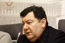 E. Zingeriui uždrausta patekti į Rusiją