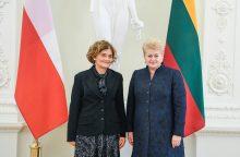 Darbą pradeda nauja Lenkijos ambasadorė Lietuvoje