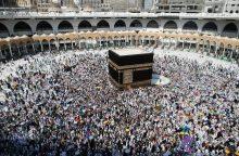 Šventosios Mekos simboliu dabar galima laikyti buldozerį