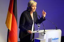Vokietijoje – M. Le Pen vadovaujamas euroskeptikų suvažiavimas