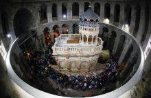 Jeruzalėje atidarytas restauruotas Jėzaus kapas