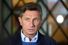 Slovėnijos prezidento rinkimus laimi dabartinis valstybės vadovas B. Pahoras