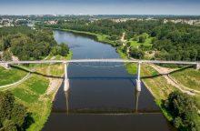 Alytaus pėsčiųjų ir dviračių tiltas neturi analogų