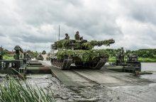 NATO sąjungininkai parodė galintys lengvai atlikti svarbų manevrą
