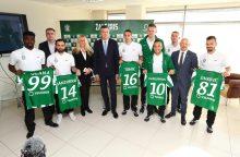 """Vilniaus """"Žalgiris"""" sezoną pasitinka su ambicingais tikslais"""