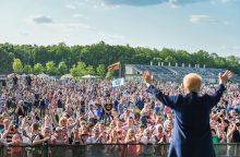 """""""Laisvės piknike"""" prezidentė ragino nebijoti kalbėti"""