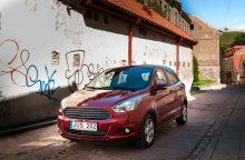 """Naujasis """"Ford KA+"""" – jau Lietuvoje"""