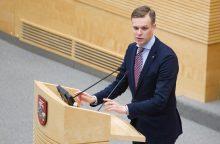 G. Landsbergis dėl biudžeto: laukiame reikšmingų pakeitimų