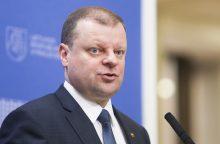 S. Skvernelis: vienintelis Vilniaus mero darbas – nupjauta tuja
