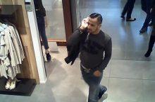 Dar viena vagystė: vyras iš parduotuvės spruko su moteriška striuke