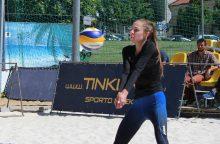 Europos jaunimo paplūdimio tinklinio čempionate Lietuva turės dvi komandas