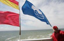 Smiltynei sieks Mėlynosios vėliavos