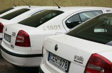Savivaldybė pardavinės policijos automobilius