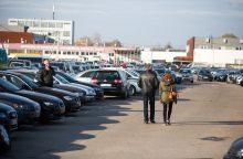 Kauno automobilių turgui vien aikštelės nepakanka